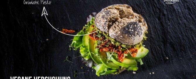 Vegane Versuchung Grünkohl Pesto